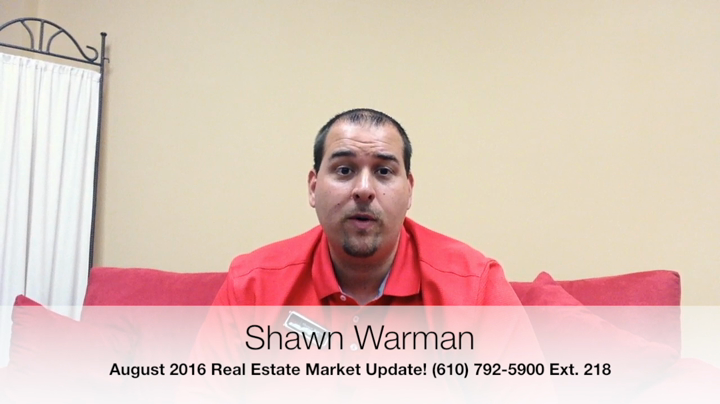 August 2016 Real Estate Market Update