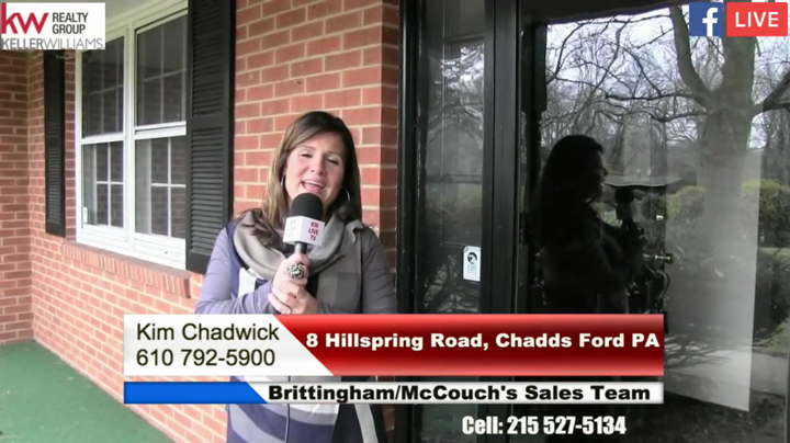 Kim Chadwick from the Brittingham McCouch Team Takes you Through 8 Hillspring Road in Chadds Ford PA
